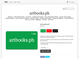 artbooks.ph gift card purchase