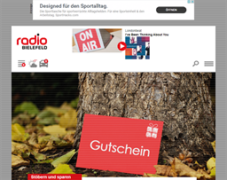 Radio Bielefeld gift card purchase