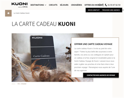 Kuoni gift card purchase