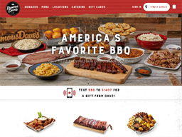 Famous Dave's BBQ shopping