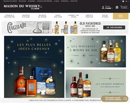 Maison du Whisky shopping