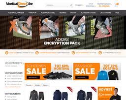 VoetbalDirect shopping