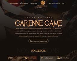 Garenne Game shopping