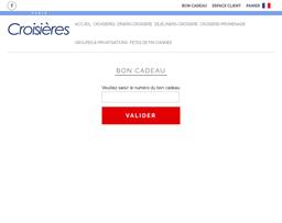 Paris Croisières gift card purchase
