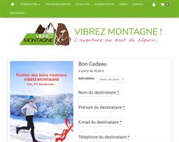Vibrez Montagne gift card purchase
