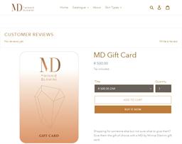 Minnie Dlamini gift card purchase