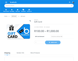 bluebulb gift card purchase