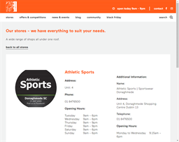 Athletic Sports shopping