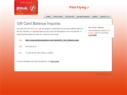 Pilot Flying J gift card purchase