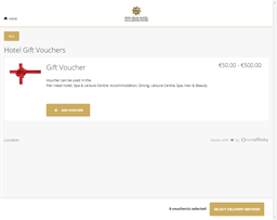 Pier Head Hotel gift card purchase