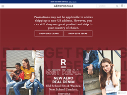 Aeropostale shopping
