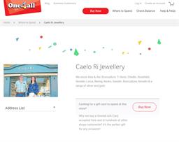 Caelo Ri Jewellery gift card purchase