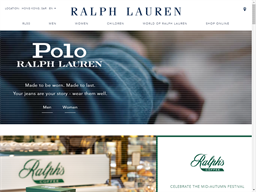 Ralph Lauren shopping