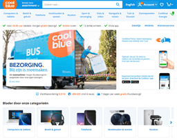 Coolblue shopping