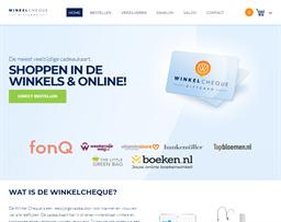 Winkel Cheque shopping