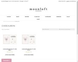 Moonloft gift card purchase