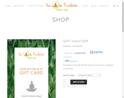 The OM Revolution gift card purchase
