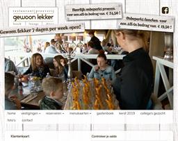 Restaurant Gewoon Lekker gift card purchase