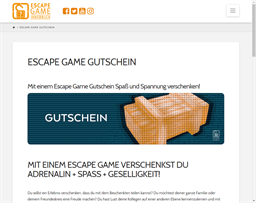 Escape Game Innsbruck gift card purchase