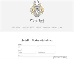 Weyerhof gift card purchase