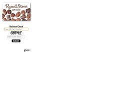 Russell Stover Candies gift card balance check