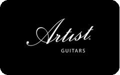 Artist Guitars gift card design and art work