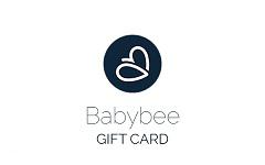 Babybee Prams gift card design and art work