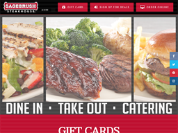 Sagebrush Steakhouse gift card purchase