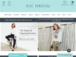 Blue Bungalow shopping