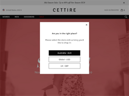 Cettire shopping