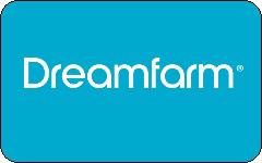 Dreamfarm gift card design and art work