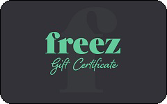 Freez gift card purchase