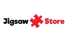 Jigsaw Store gift card design and art work