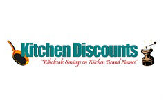 Kitchen Discounts gift card design and art work