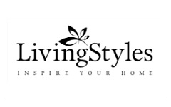 Living Styles gift card design and art work