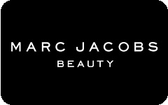 Marc Jacobs Beauty gift card design and art work