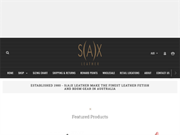 Sax Leather shopping