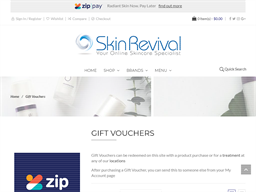 Skin Revival gift card purchase