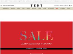 TEMT shopping