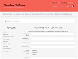 Pakenham Mattresses gift card purchase