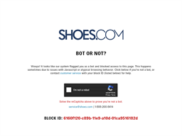 Shoes.com shopping