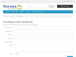 Norwex Boutique gift card purchase