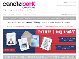 Candle Bark Creations shopping