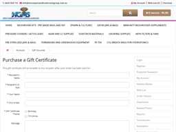 New Generation Mushroom Supplles gift card purchase