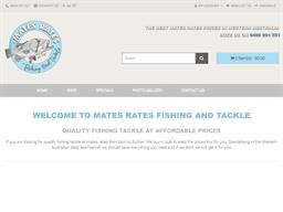Mates Rates Fishing and Tackle shopping