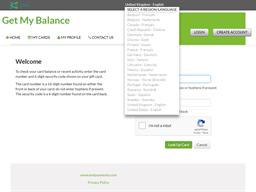 The East Lothian gift card balance check