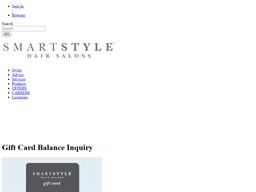 Smart Style Hair Salons gift card balance check
