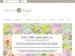 Olive and Sage shopping