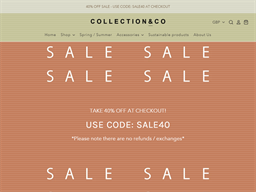 Collection & Co shopping