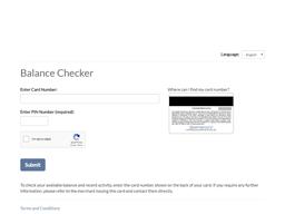 Bluemercury gift card balance check
